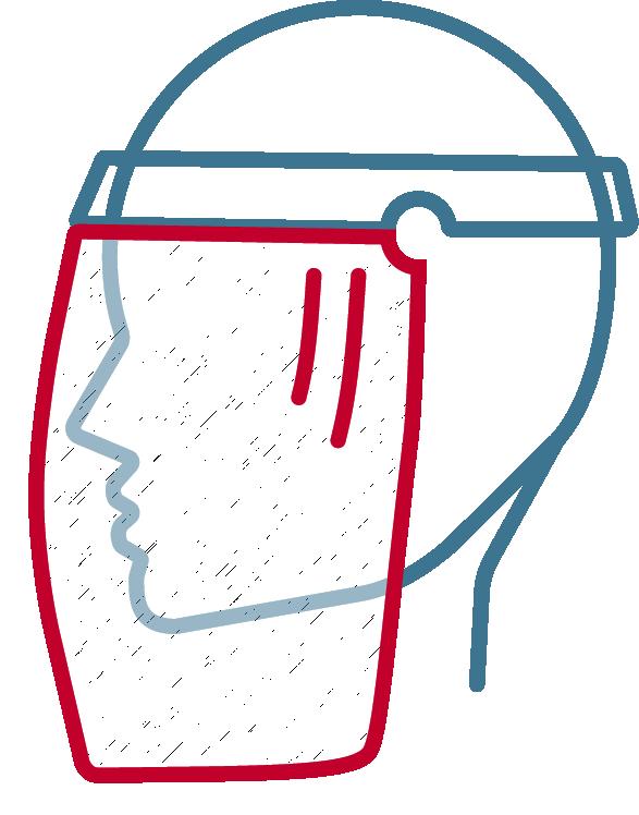 #Face shield Logo